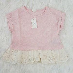 Baby Girl Gap Lace Shirt Size 2Yrs 2T